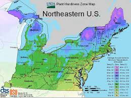 Us Growing Zone Chart Usda Plant Hardiness Zone Maps By Region
