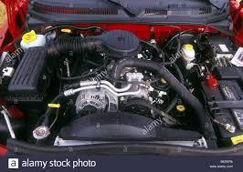 Car, Chrysler Dodge Dakota, Pick-Up, model year 1997-, red, view ...