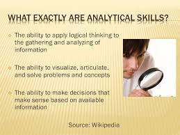 developing your analytical skills