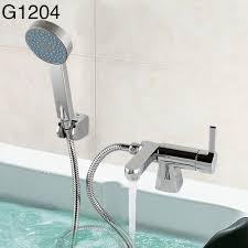 bathtub shower faucet