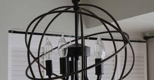 rh orb chandelier chandelier restoration hardware orb knockoff lighting repurposing upcycling plans