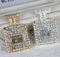 How To Decorate Perfume Bottles 100PC send random color Perfume Bottle Crystal DIY Mobile Decoration 56