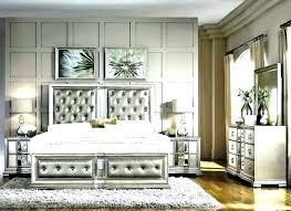 Mirror Furniture Set Mirror Headboard Bedroom Set Sets Mirrored ...