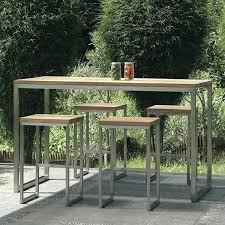 patio bar table and chairs amazing outdoor bistro table set bar height with teak outdoor bistro