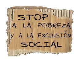 Resultado de imagen de desigualdad pobreza y exclusion social en españa