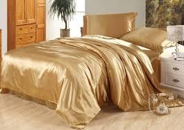 luxury camel tanning silk bedding set satin sheets super king queen full twin size duvet cover bedsheet ed bed in a bag quilt comforters duvet