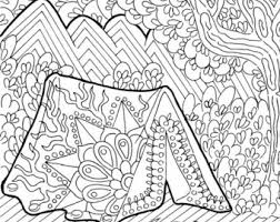 Small Picture Printable Coloring Page Zentangle Figure Skating Coloring Book