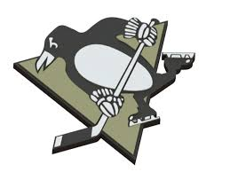 3D Printed Pittsburgh Penguins logo by Ryšard Poplavskij   Pinshape