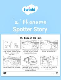Check out our collection of printable phonics worksheets for kids. Ai Phoneme Spotter Story Phonics Phonemes Literacy Lessons