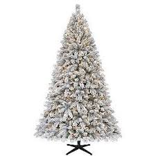 ... Unique Ideas Sears Christmas Tree White Flocked Artificial Winter  Wonderland A ...