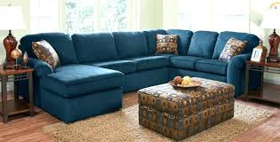 navy blue sectional sofa for with white piping