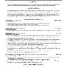 Sample Resume Entry Level Pharmaceutical Sales New Medical Sales