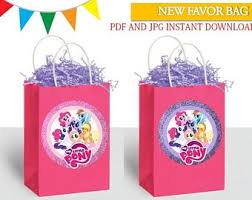 <b>HASBRO MY LITTLE</b> PONY 30 PCS GOODIE GIFT BAGS PARTY ...
