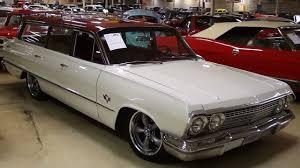 1963 Chevrolet Impala Wagon 383 Stroker Powered Lowered Hot Rod ...