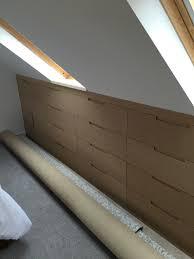 Loft Bedroom Storage Loft Eaves Storage Dom Przechowywanie Pinterest We Drawers