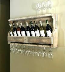 hanging wine glass rack wine rack with glass holder interior hanging wine rack wood with glass