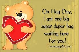 happy hug day for friends. Brilliant Day Onhugdayigotonebigsuper And Happy Hug Day For Friends