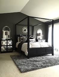 Silver And Black Bedroom Home Goods Played A Huge Roll In This Master Bedroom Redo Cozy