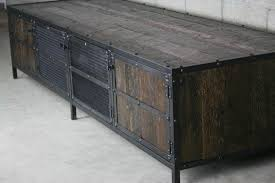 metal industrial furniture. Dark Wood Media Console-3787 Metal Industrial Furniture Jesanet.com