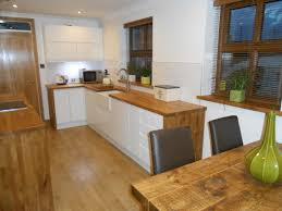 Kitchen Diner Flooring White Gloss Kitchen Oak Worktop Google Search Cream Wood