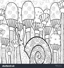 mushroom coloring pages for s 2 g coloring page cute snail mushroom
