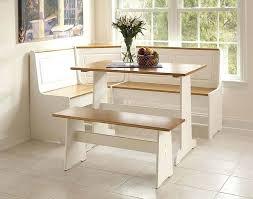 Bench Breakfast Nook Black Kitchen Table With Bench Stunning Design Corner Dining Also