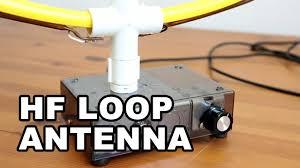 hf indoor loop antenna diy simple easy to build