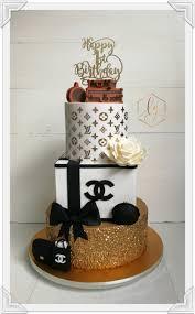 Designer Birthday Cake By Lulu Goh Decor Cakes Birthday Cake