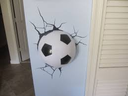 Soccer Bedroom Bedroom Cool Soccer Bedrooms For Boys Large Plywood Wall Decor