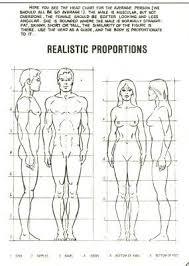 Human Proportions Chart