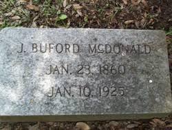 Julius Buford McDonald (1860-1925) - Find A Grave Memorial