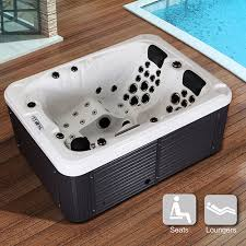 model hot tubs spa jacuzzi whirlpool bath outdoor 2 1 seats new