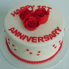 Happy Anniversary Fondant Cake Winni
