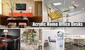 Image Minimalist Pinterest Acrylic Home Office Desks For Clearly Fabulous Work Space