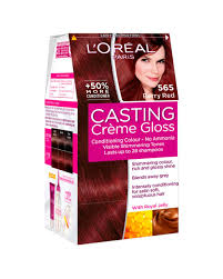Casting Cr Me Gloss Berry Red 565 Hair Dye L Or Al Paris
