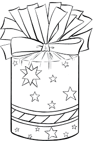 birthday present clip art black and white. Beautiful Art Christmas Present Clip Art Presents Clipart Template Freeuse Library With Birthday Present Clip Art Black And White