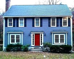 White shutters on house Stone Navy Blue House Dark Shutters Houses With Red Doors Photos Front White And Yellow Gray House Blue Shutters Photo Dark Blue Shutters On White House Navy Siding Trim Th Gray