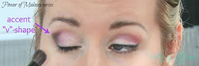 your eyeshadow accent v shape
