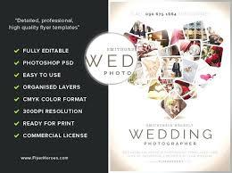 Wedding Brochures Templates Free Flyers Co Photography Brochure