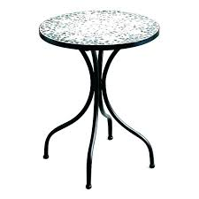 half circle accent table small glass top round off white