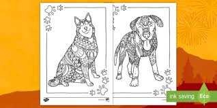 New year lucky color 2018 to wear. The Year Of The Dog Mindfulness Coloring Pages