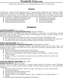 How To Write A Resume Profile 10 Resumes Professional Best Medical Career