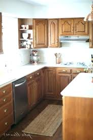 Restain Oak Kitchen Cabinets Beauteous Ideas To Update Kitchen Cabinets Old Kitchen Cabinets Updated