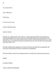 Format For Certification Letter Sample Employer Thekindlecrew Com