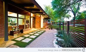 Modern Backyard Design Fascinating 48 Modern Front Yard Landscape Ideas Home Design Lover