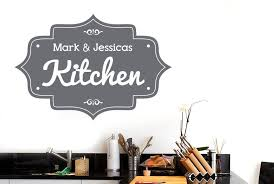 personalised kitchen vintage sign wall stickers uk wall art stickers grey gallery for photographers wall sticker
