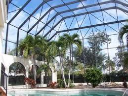 Custom pool enclosure hexagon shape Lighting Story Pool Enclosure Bullfrog Spas Lightning Aluminum Inc Garages Enclosures Outbuildings