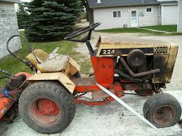 case garden tractor. The Case I Had Also Been Around During My Child Hood. Neighbors Nearby It. Here Are Pics. S/N Of This 224 Is 9676258. Could Anyone Tell Me What Year It Garden Tractor
