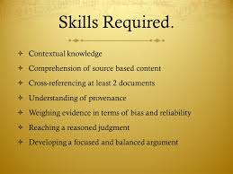 writing a source based essay for aice paper ppt  contextual knowledge