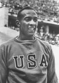Jesse Owens 1936 Berlin Olympics Track and Field Star